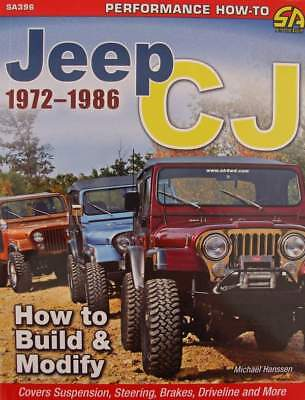BOEK/LIVRE : Jeep CJ 1972-1986 - How to Build & Modify (manuel,off-road,oldtimer