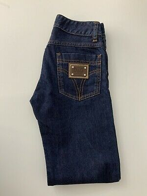 Dolce & Gabbana Kids Jeans, Size Age 7-8 Years, Blue, Vgc