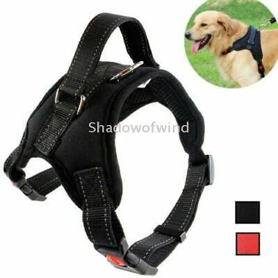 Pet Dog Harness No Pull Reflective Adjustable with Front Clip for Large Breeds