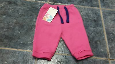 BNWT Baby girl pink jogger pants size 3-6 mths by KD Kids Division