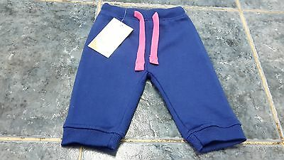 BNWT Baby girl navy blue joggers pants size 3-6 mths by KD