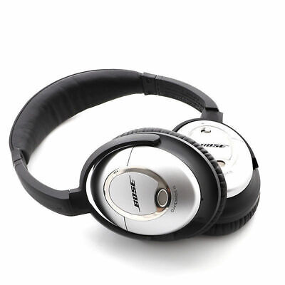 Bose QuietComfort 15 QC15 Acoustic Noise Cancelling Wired Headphones - Grey