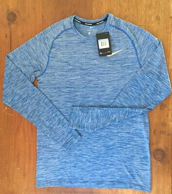 e63332133 RET$90 NIKE DRY KNIT Men's Long Sleeve Running Top SZ 2XL 833565 466 ...
