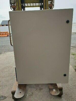 Large Steel Electrical Enclosure With Cooling Fan 600 x 800 x 260 mm