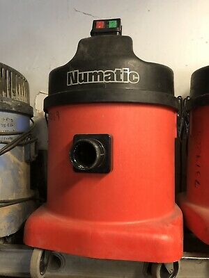 NUMATIC INDUSTRIAL HOOVER VACUUM CLEANER 240v
