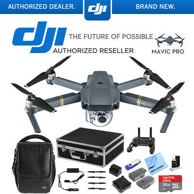 DJI Mavic Pro Fly More Combo Expedition Kit (CP.PT.000642) with 3 Battery Bundle