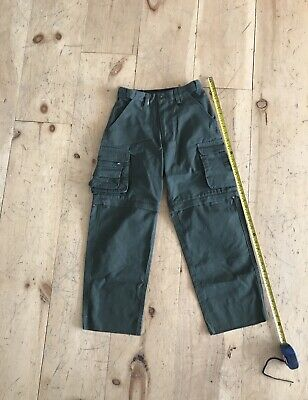 BSA Official Olive Green Switchback Uniform Long Pants Size Youth 10