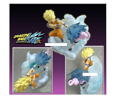 Bandai dragon ball imagination kid bu buu boo vs goku saiyan ss3 figure figura