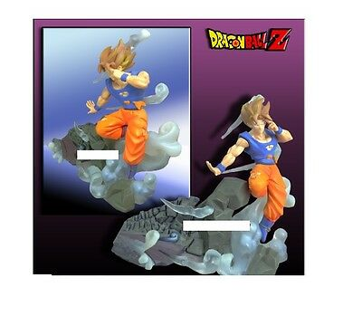 Bandai dragon ball imagination goku gengidama kid bu figure figura bola de drac