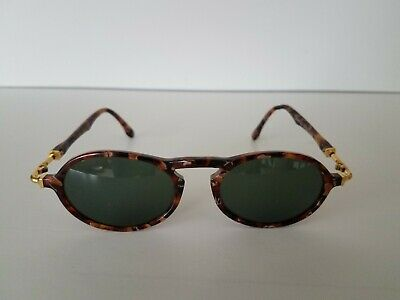 d734fd5ddc849 VINTAGE RAY BAN Bausch And Lomb Shooter Aviators Bullet Hole B L USA ...