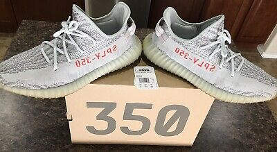 33942d46e5ee4 Kanye West Adidas Yeezy Boost 350 V2 Blue Tint Size 13 100% Authentic Used