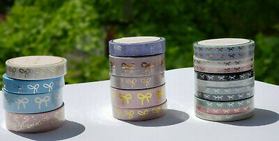 Simply Gilded Assorted Washi Tape collection in different size BRAND NEW