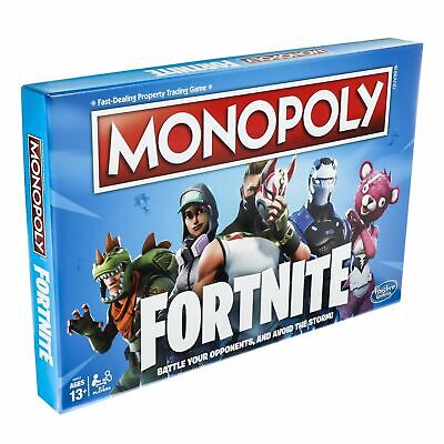 MONOPOLY Fortnite Edition Board Game Original Factory Sealed