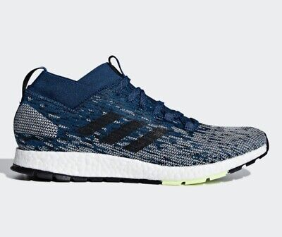 52a2535b6c748 Adidas PureBOOST RBL Ultra Boost Pure Running Mens Shoes Blue prime knit  slip on