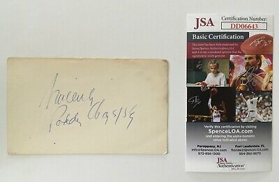 Cards & Papers Movies Oliver Stone Signed Autographed 3x5 Card Jsa Certified