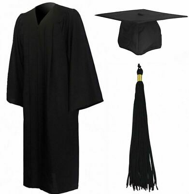 Adult Graduation Robe Gown and Cap