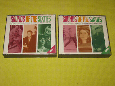 READERS DIGEST Sounds of The Sixties 1960 & 1963 - 2 Albums 6 CDs Beach Boys