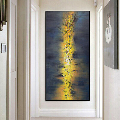 """Ya828 Canvas Oil Painting Abstract Color Art 100% Hand-Painted Unframed 59"""""""