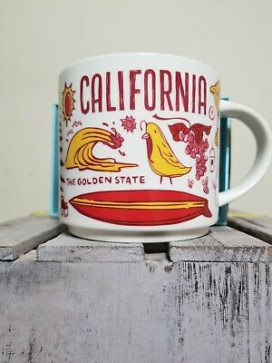 Starbucks 2018 California Been There Series Mug !