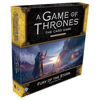 A Game of Thrones The Card Game Fury of the Storm Expansion NEW
