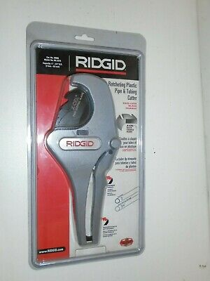 RIDGID 30088 Model RC-2375 Ratchet Action Plastic Pipe and Tubing Cutter, 1/8-in