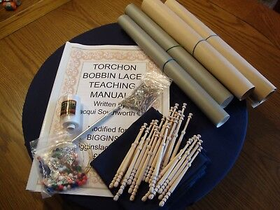 Lace Making Starter Kit.
