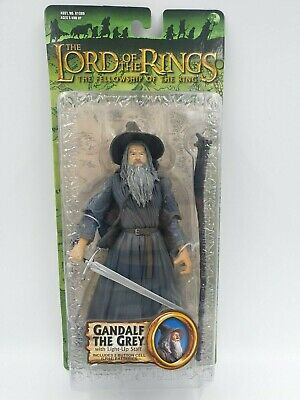 Lord of the rings action figure GANDALF THE GREY toybiz LOTR RARE MINT NEW