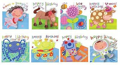 Mixed pack of 8 Tim Bulmer Humourous Male Birthday cards from Jodds