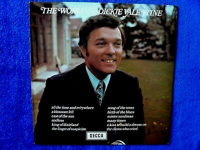 Dickie Valentine 'The Wonderful World of...' - LP. From private record collector