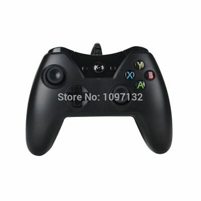 Black USB Wired Controller For Microsoft Xbox One Controller Gamepad PC Windows
