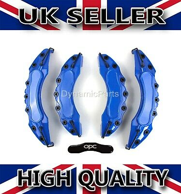 Vauxhall Corsa Astra Brake Caliper Covers Set Kit Front & Rear Blue Abs 4Pcs