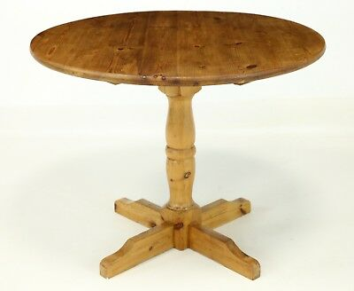 Round Pine Pedestal Table FREE Nationwide Delivery