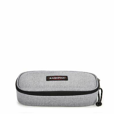 Eastpak Oval Single Trousse, 22 cm, Gris (Sunday Grey)