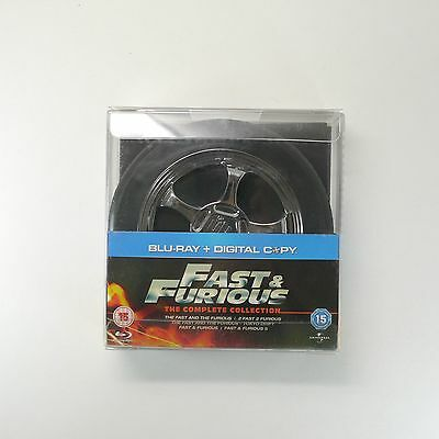Fast & Furious The Complete Collection Blu-ray [5-Movie, +Digital Copy, 10discs]