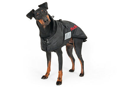 BLACK  BACK ON TRACK THERAPEUTIC DOG RUG/COAT S,M, L drug free pain relief
