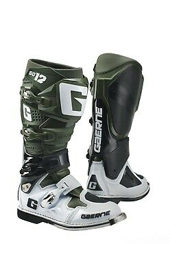 Gaerne Sg12 Mx Boots Army,  Sg12 Army, Motocross, Enduro, Trail & Off Road Boots