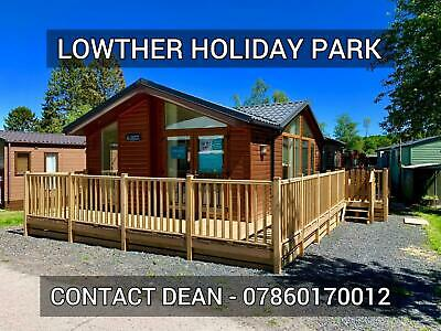 Log cabin single lodge chalet holiday home for sale Lake District Cumbria 11mth
