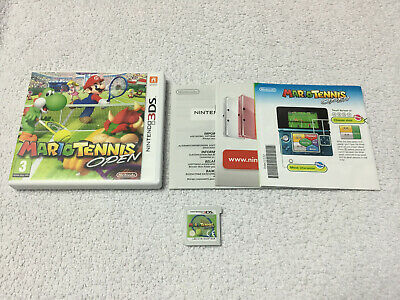*VGC* Mario Tennis Open For The Nintendo 3DS Boxed PAL UK