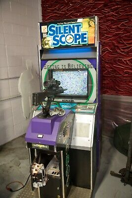 Silent Scope Stand up Arcade Game