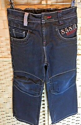 Next Age 5 Height 110 cm Boys Street Wise Jeans Adjustable waist Great Condition