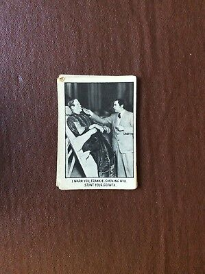 Rare Trade Card Abc A&bc You'll Die Laughing Creature Feature No 29
