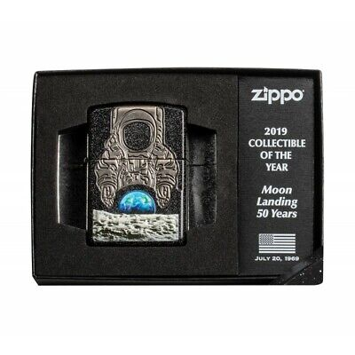 Zippo Lighter Moon Landing 50th Anniversary 2019 COLLECTIBLE Of The Year
