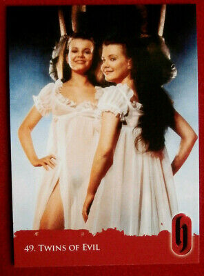 HAMMER HORROR - Series Two - TWINS OF EVIL (Mary & Madeline Collinson), Card #49
