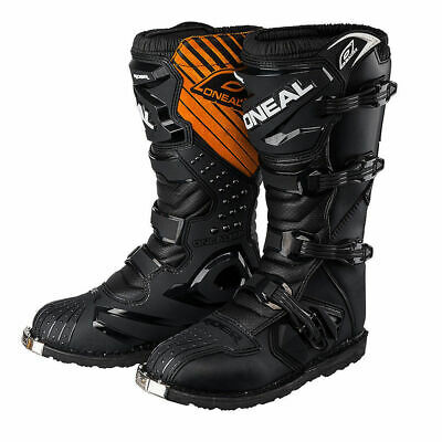 ONeal Rider Adults Mx Motocross Enduro Dirt Bike Trail Boots Black Size 8 Eu 42