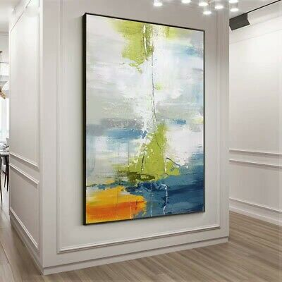 Ya838 Modern Home Decor Hand-Painted Canvas Abstract Oil Painting Unframed