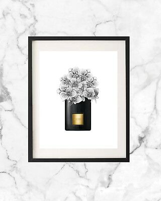 Tom Ford Perfume Bottle Fashion Poster Wall Art Print Home Decor A4 Gift