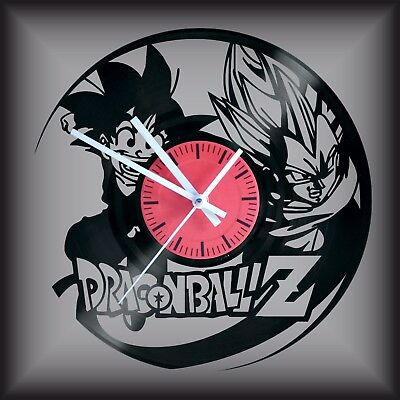 Reloj disco de vinilo LP Regalo original cumpleaños DRAGON BALL