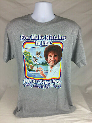 Bob Ross Men's T-shirt Size 2X