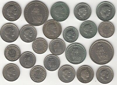 Collection Of Switzerland Coins | European Coins | Pennies2Pounds