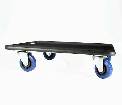 Rubber Edge 590mm Square Furniture Skate Dolly Removal Moving Trolley 500kg HD01